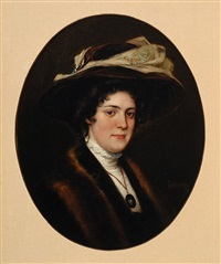 portrait of gijsbertha nicolaï by johannes gabrielse