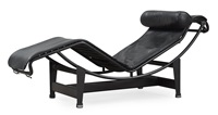 lc 4 lounge chair by le corbusier, charlotte perriand and pierre jeanneret