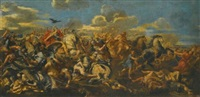 alexander's victory over darius at the battle of issus by pietro da cortona