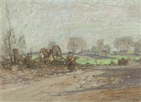 woodcutters, craigmillar by james hamilton mackenzie
