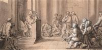 scène d'enseignement d'un docteur by bernard picart