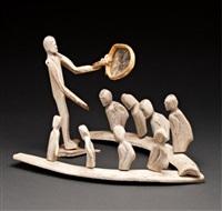 drum dance scene by luke iksiktaaryuk