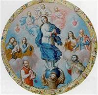 apoteosis de la virgen by josé mariano farfan de los godos