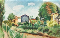landscape from provence by iosif iser