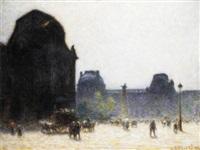 le louvre by anatole eugène hillairet
