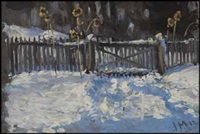 winter study by james edward hervey macdonald