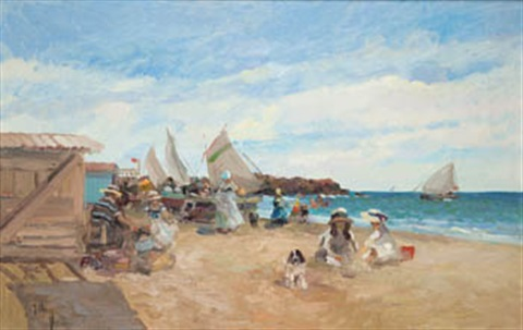playa de valencia by josé luis checa