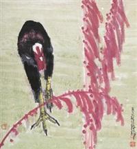 大吉图 (cock) by jia pingxi