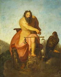 jupiter weighing the destiny of the human race by nicolaj-abraham abilgaard