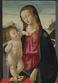the madonna and child by davide bigordi ghirlandajo
