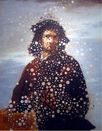 autoretrato con salvator rosa by alfanso albano