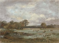 on hale farm water meadows by arthur james stark
