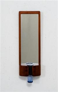 specchio da parete con vaso solifiore by per lutken