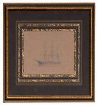 us steam sloop juniata by xanthus russell smith