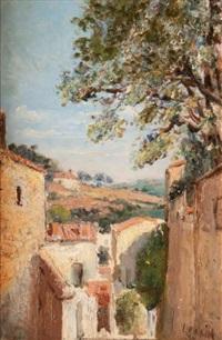 village provençal by marcel françois leprin