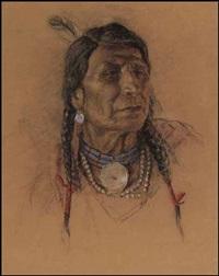 indian brave by nicholas de grandmaison