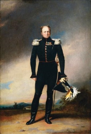 portrait of tsar alexander i by george dawe