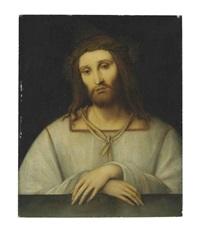 christ as man of sorrows by bernardino luini