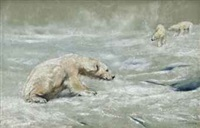 polar bears by arthur wardle
