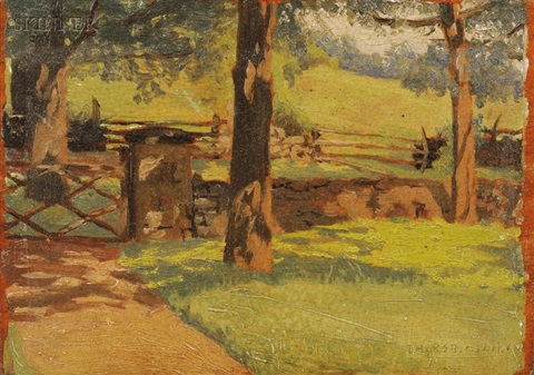 the shaded gate by theodore robinson