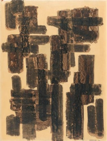 brou de noix by pierre soulages