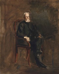 portrait of robert c. ogden (study) by thomas eakins