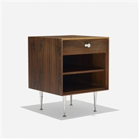 thin edge nightstand, model 5707 by george nelson & associates