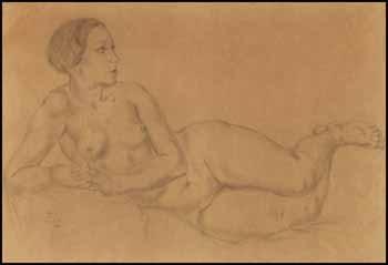 femme nue by léonard tsuguharu foujita