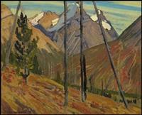 rocky mountains by james edward hervey macdonald
