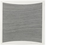 untitled (la lune en rodage - carlo belloli) by bridget riley