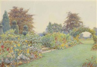 under the terrace, brome hall by ernest arthur rowe