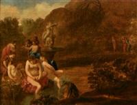 diane découvrant la grossesse de callisto by pieter hendrickx spykerman