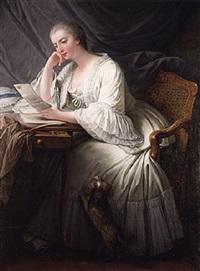 la lecture by charles françois hutin