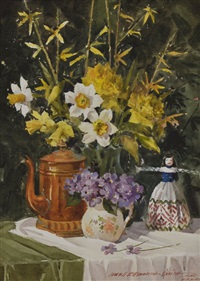 spring arrangement by lowell ellsworth smith