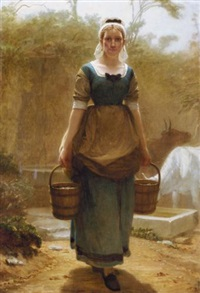 return from the well by charles edward perugini