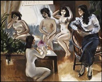 five women by federico aguilar alcuaz