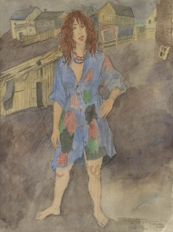 hodle by raphael soyer