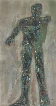 male figure by leon golub