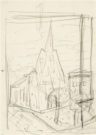 kirche von arras by otto dix