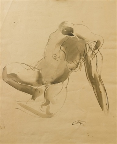 untitled nude by georg kolbe