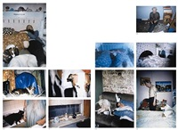 untitled - nral 25 (+ 9 others. 1993-96, various sizes; 10 works) by richard billingham