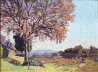 mattino d'autunno sulla riva dell'arno by llewelyn lloyd