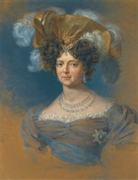 portrait of the dowager empress maria fedorovna by george dawe