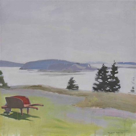 the barred islands by fairfield porter