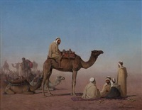 bedouin resting by henrik august ankarcrona