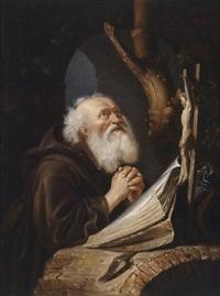 ein betender eremit by peter gysels