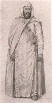 portrait de abo-el-kader by michel acezat