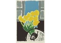 yellow tulip by setsuko migishi