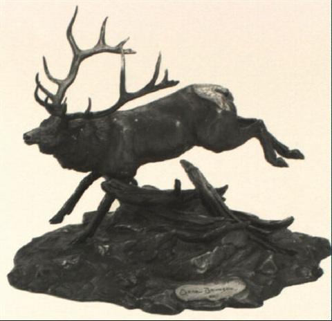 royal elk by clark everice bronson