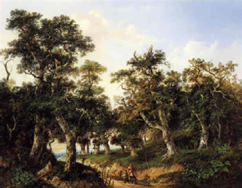 edge of the woods by charlotte nasmyth